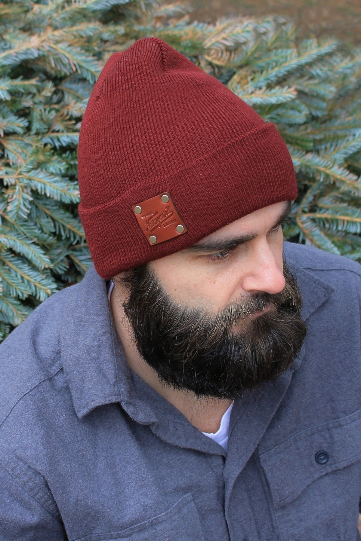 American Bench Craft X 'Gansett Watch Cap (Maroon)