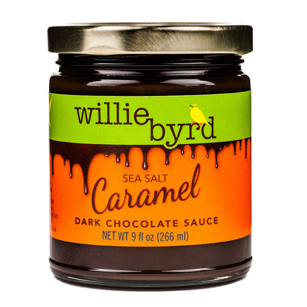 Sea Salt Caramel Dark Chocolate Sauce