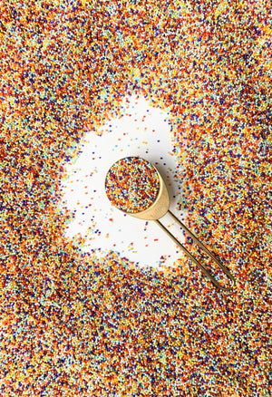 NOT YOUR AVERAGE RAINBOW SPRINKLES
