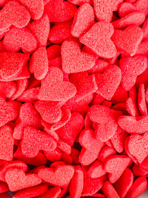RED HEART CONFETTI SEQUINS