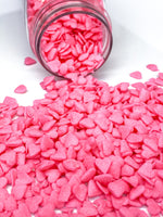 MINI PINK HEART CONFETTI SEQUINS