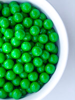 GREEN ROUND COVERED CHOCOLATE