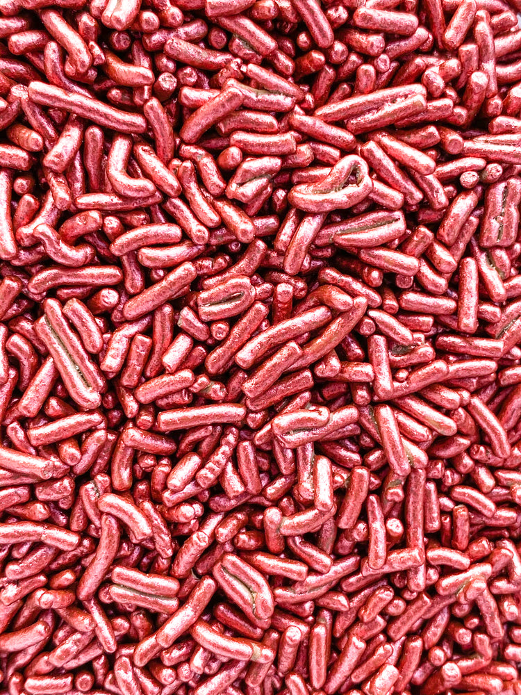 RED WINE METALLIC CHOCOLATE SPRINKLES