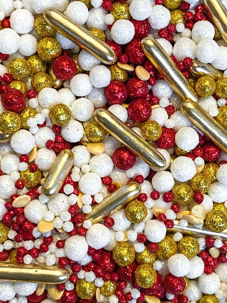 RED AND GOLD LUXURY SPRINKLES
