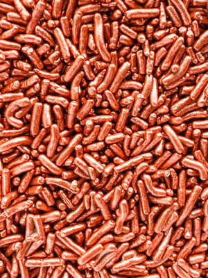 COPPER METALLIC CHOCOLATE SPRINKLES