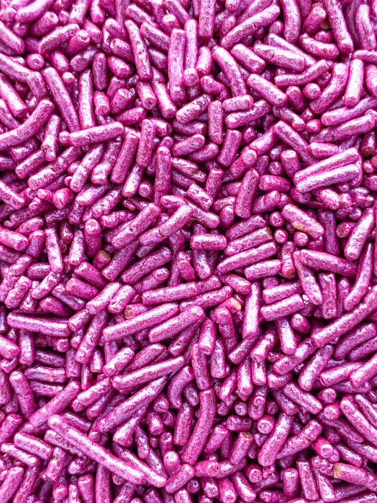 FUCSIA METALLIC CHOCOLATE SPRINKLES