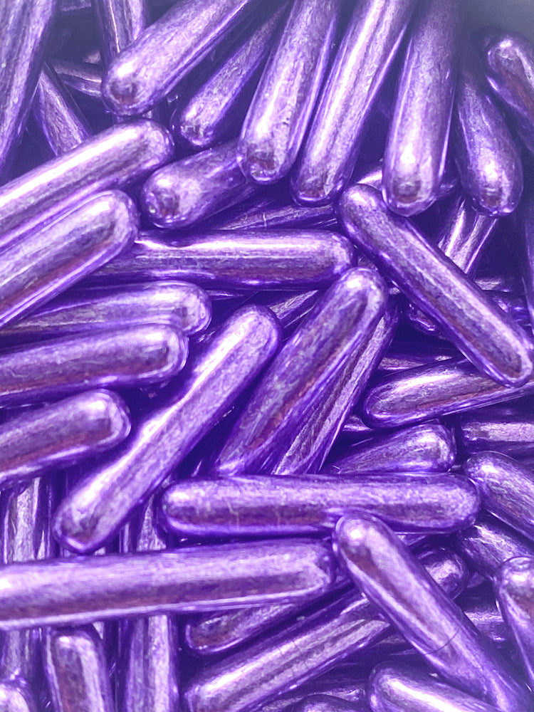 PURPLE METALLIC RODS