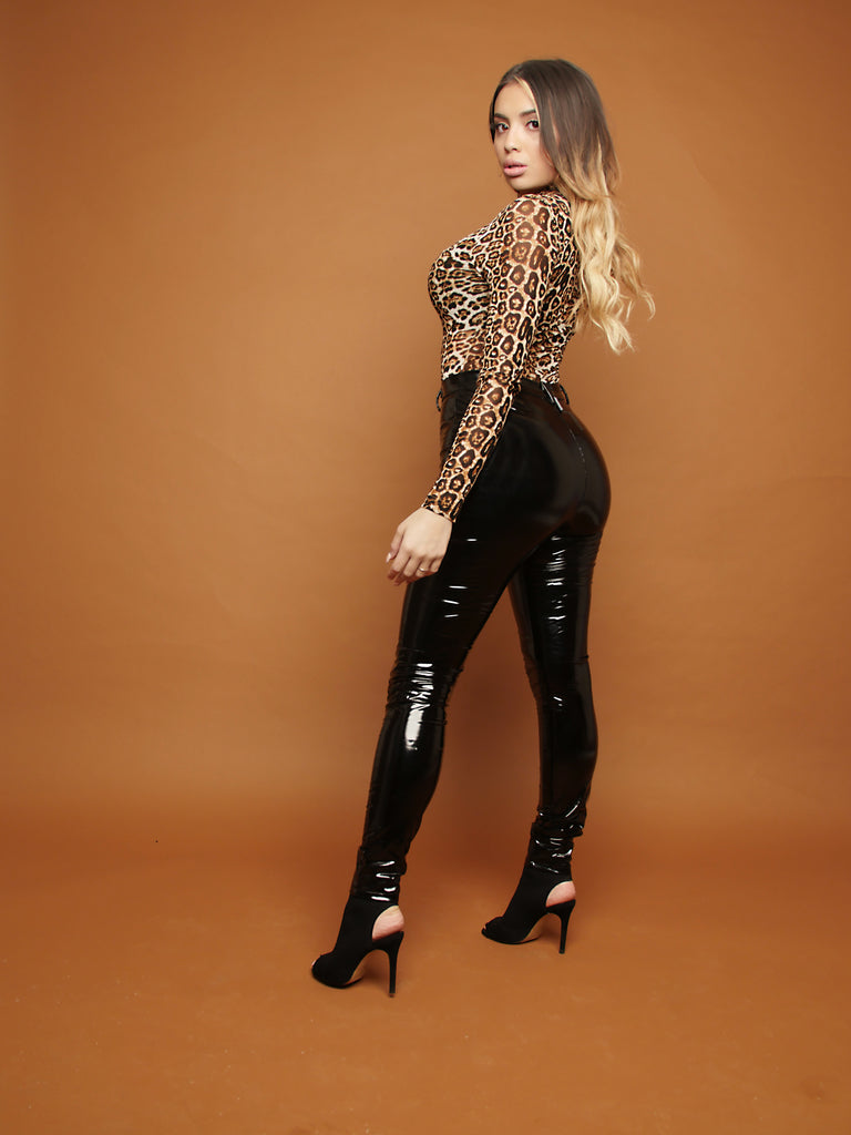 Black Magic Latex Pants - 1 Hot Diva