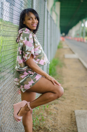 Camo Cutie Shorts Set - 1 Hot Diva