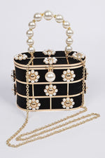 Daisy Pearl Cage Purse - 1 Hot Diva