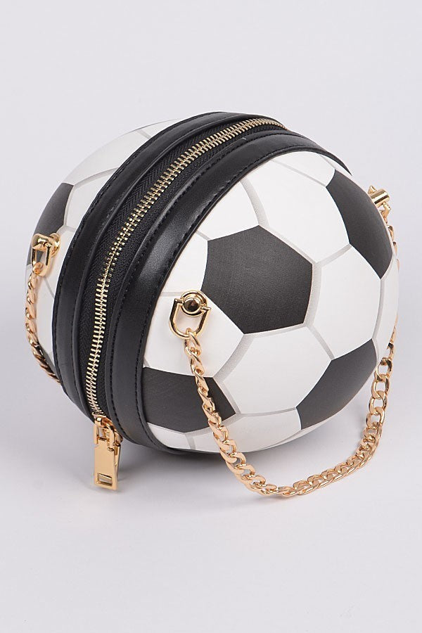 Get Your Kicks Soccer Ball Clutch