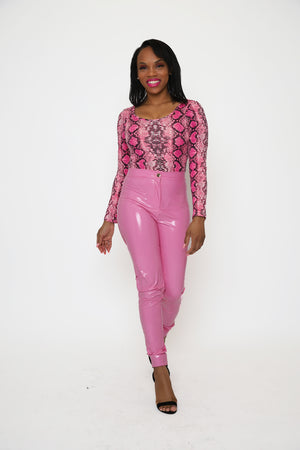 Glossy Girl Latex Pants - 1 Hot Diva