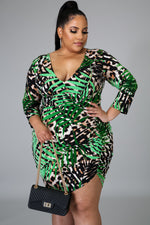Jungle Queen Bodycon Dress - 1 Hot Diva