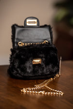 Minx Faux Fur Mini Bag