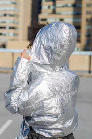 Nova Foiled Metallic Jacket - 1 Hot Diva