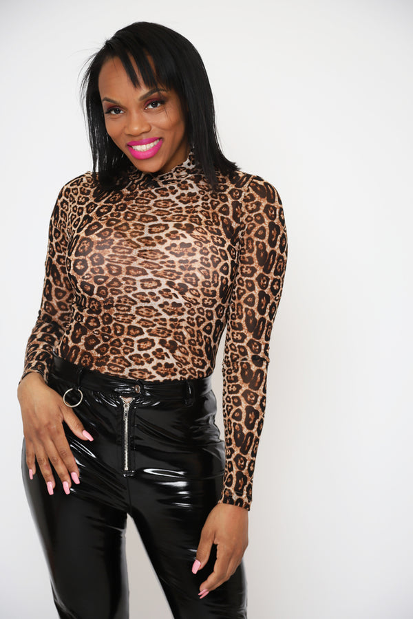 On the Prowl Leopard Bodysuit - 1 Hot Diva