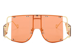 Paparazzi Oversized Visor Sunglasses - 1 Hot Diva
