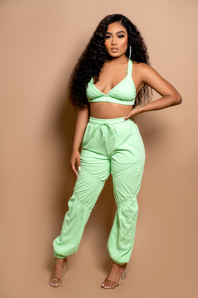 Remix Bralette and Joggers Set