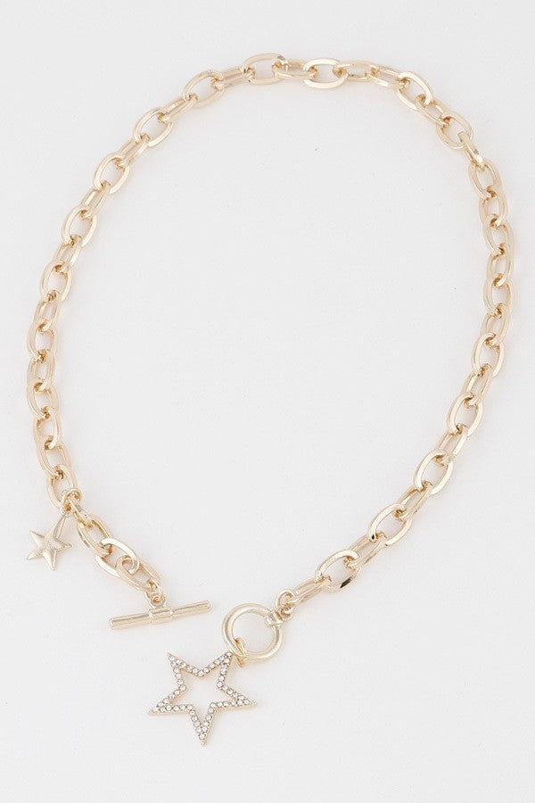 Vega Star Toggle Necklace