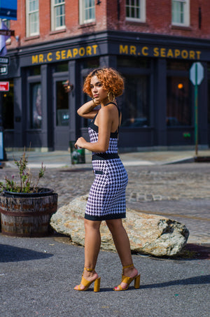 Work It! Houndstooth Dress - 1 Hot Diva