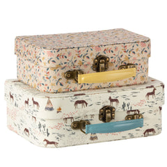 Maileg Fabric Nesting 2pcs Suitcase set