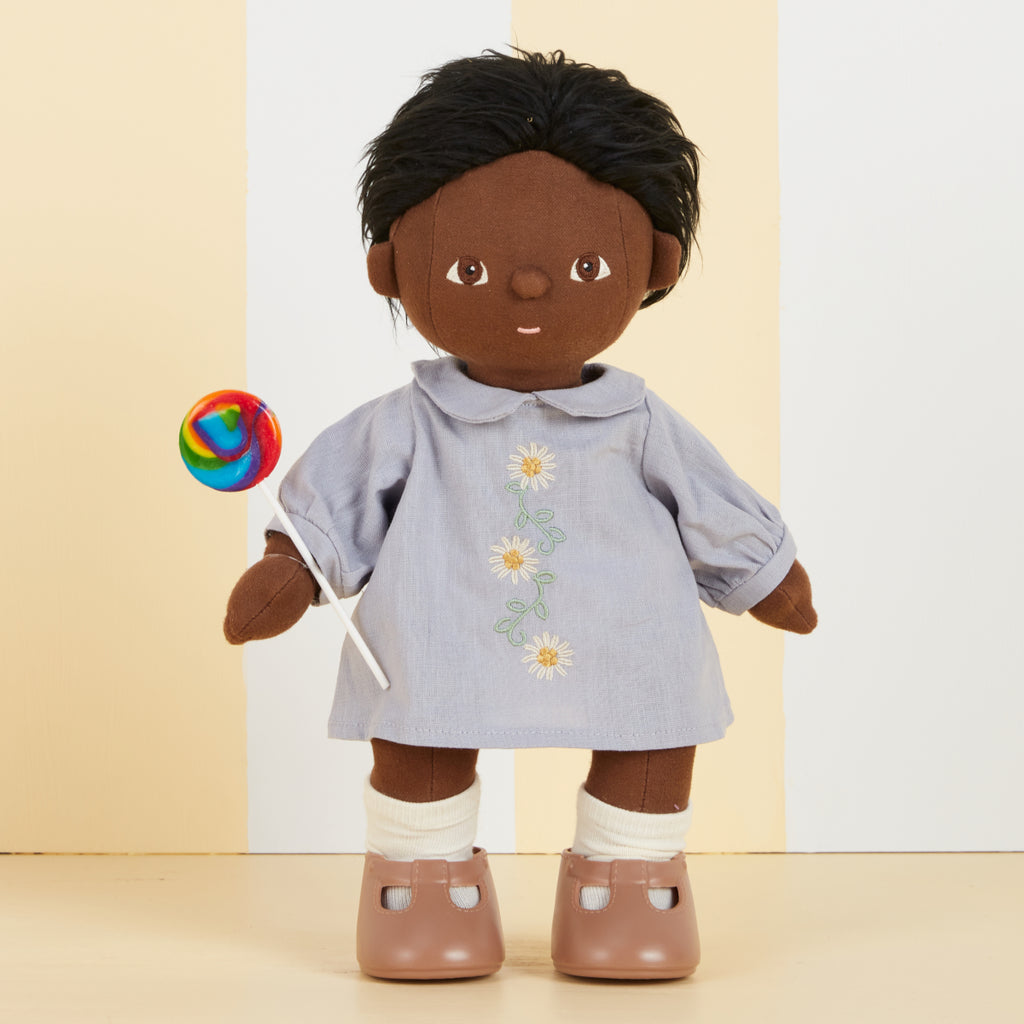 Olli Ella Dinkum Doll Cotton Daisy Dress