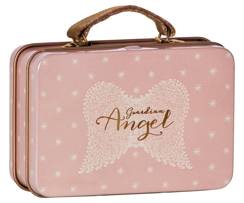 Maileg Metal Suitcase for Dolls, Angel Wings