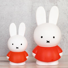 Miffy Medium Coin Bank, Red