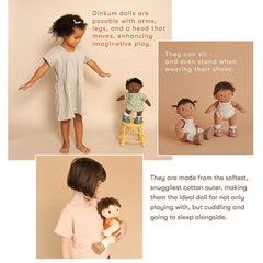 Olli Ella Dinkum Posable Dolls, Sprout