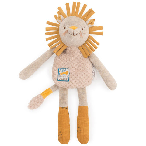 Moulin Roty Sous Mon Baobab Lion Rattle Comforter