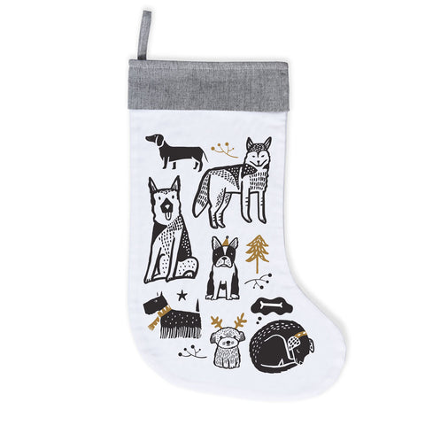 Wee Gallery Doggie Love Stocking