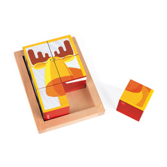 Janod 6 Forest Wooden Blocks