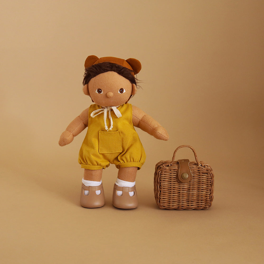 Olli Ella Dinkum Doll Clothes  Mio Romper Set