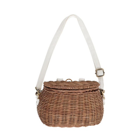 Olli Ella Mini Chari Bag, Natural