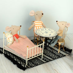 Maileg Vintage Bed for Mouse doll, White