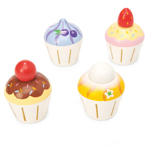 Le Toy Van Wooden Cupcakes