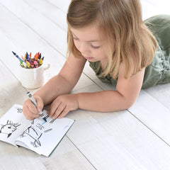 Coloring Activity Book, 32 Ways to Dress Wild Animals