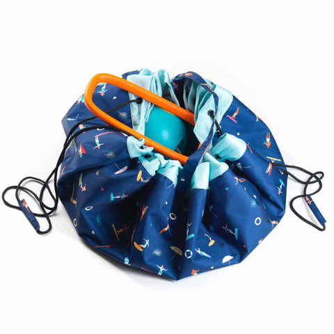 Play&Go Outdoor Beach Play and Store Bag, Surf