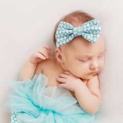 Mermaid Newborn Baby outfit with Headband