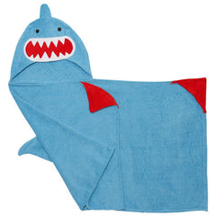 Guppy the Shark Hooded Towel