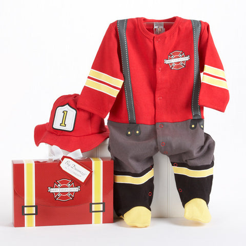 Baby Firefighter 2pcs Layette Set