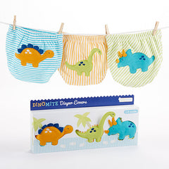 Dinosaur 3pcs Diaper Cover Gift Set