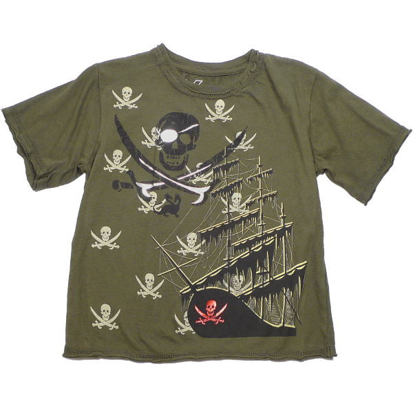 Pirate Tee with Foil Print