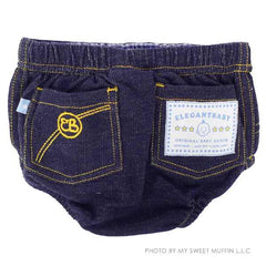 Copy of Jean Diaper Cover, Blue