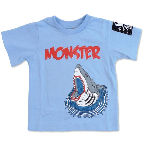 Monster Republic Robot Shark Tee