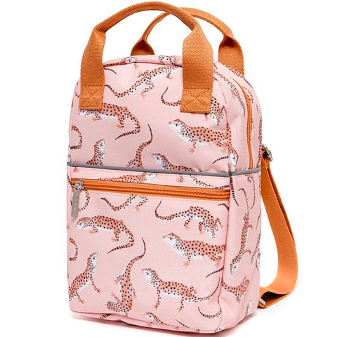Petit Monkey Large Backpack, Gecko