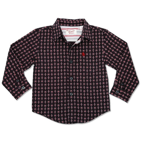 Munsingwear All-over Print Woven Shirt