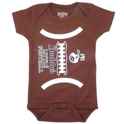 Daddy's Little Football Onesie