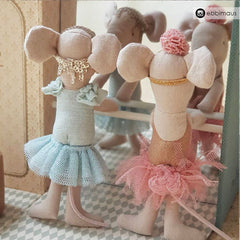 Maileg Big Sister Mouse with Dance Room
