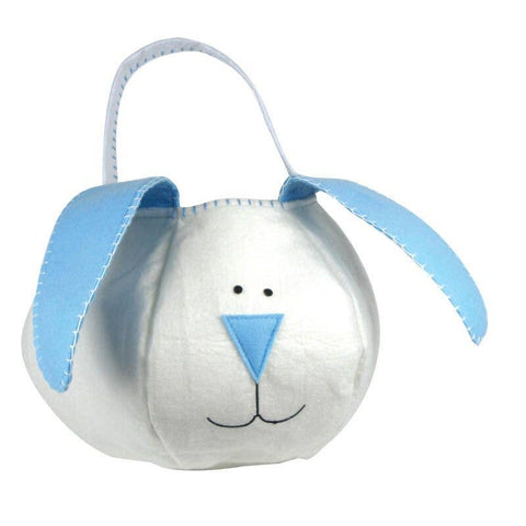 Floppy Ear Easter Basket, Blue